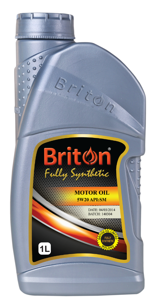 Briton Motor Engine Oil, Fully synthetic, Engine Oil, Lubricants, 5W20