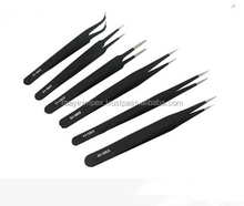 Tweezers / Anti Static Non Magnetic / Sharp Pointed Eyelash