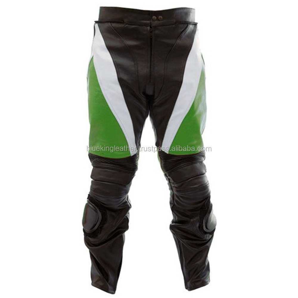 Men's Sports Apparel Leather Biker Trouse