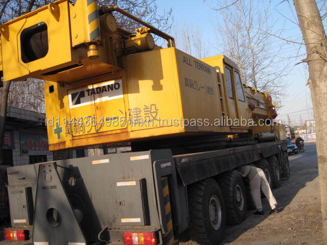 200 TON TADANO tower crane mobile crane hydraulic crane AR-2500M JAPAN origin for sale in shanghai china