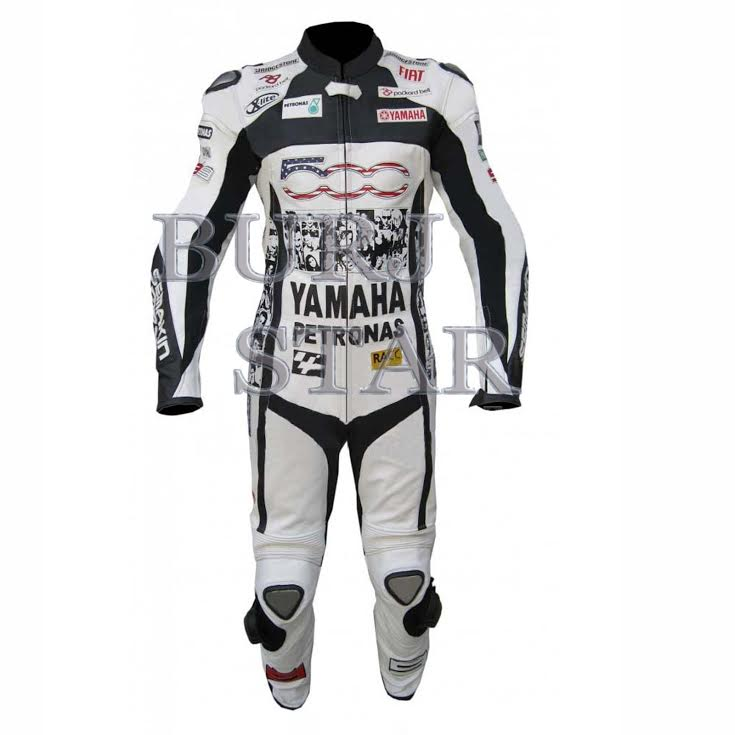 Motorcyle Racing Yamaha Leather Suit , Full Safety Top Quality Motorbike Suit
