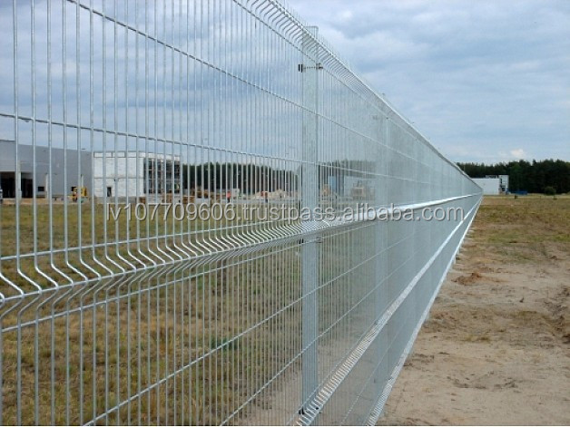 High quality HDG euro panel fence