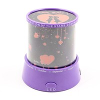 Star lover projecting light, kids night light, beautiful projecting light for couples