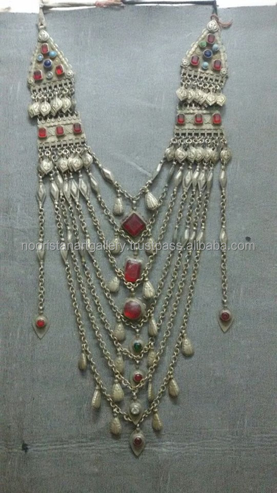 (KN-70002) Kuchi Banjara Necklace , Kuchi Banjara Jewellery, kuchi wholesale jewellery