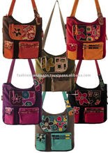 Canvas Patchwork shoulder Cotton Batik Printed Bags