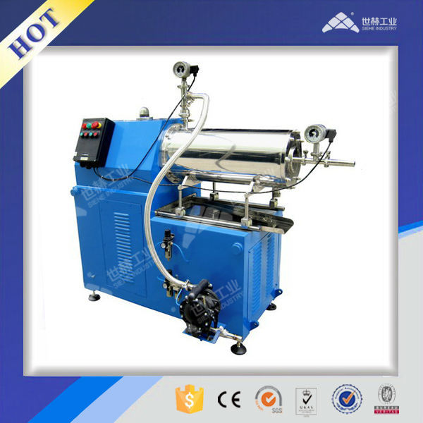 Horizontal Printing Ink disc type beads Mill