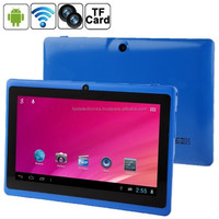 7.0 inch Capacitive Screen Android 4.0 Tablet PC with WIFI, Dual Camera - Blue