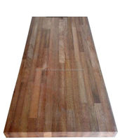 Merbau Hard Wood Butt / Finger Joint Laminated Board / Panel / Worktop / Counter Top / Table Top