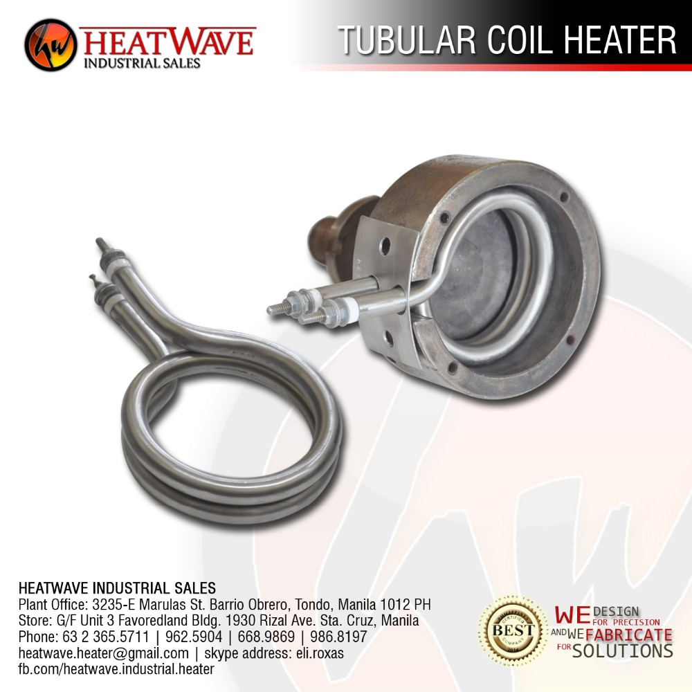Coil Heater for Paper Cup Molding Machines