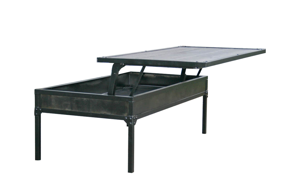 adjustable coffee dining table industrial coffee table