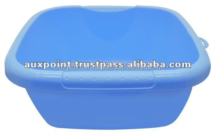 Plastic Square Basin - 1311 Blue