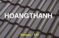 Wave small Roof Tile Bronze M3