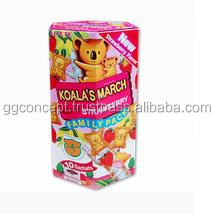 Lotte Koala's March Strawberry Cookies 195g Box / Koala's March Biscuit / Wholesale Biscuits