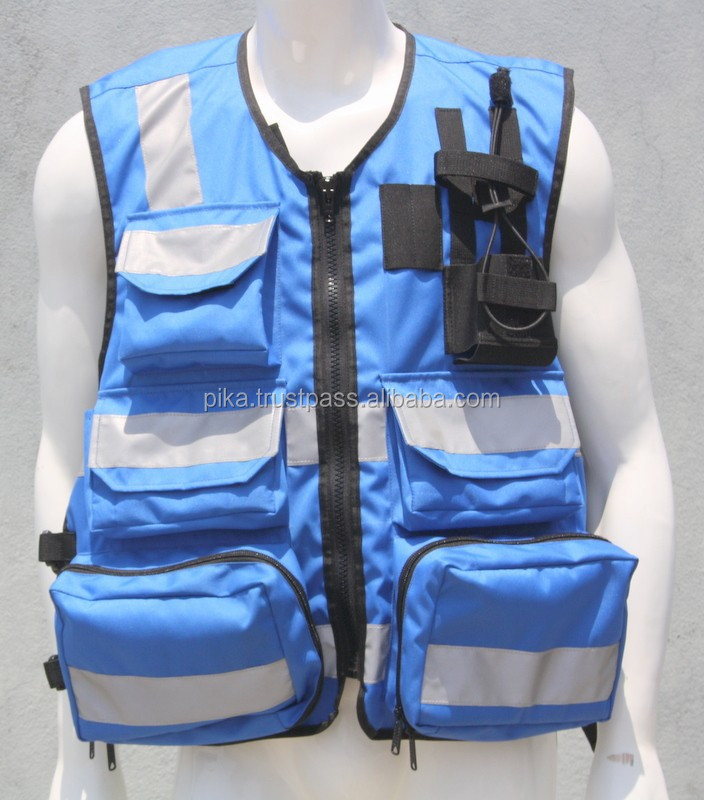 Hi Visibility EMS Medical Safety First Aid Response Vest