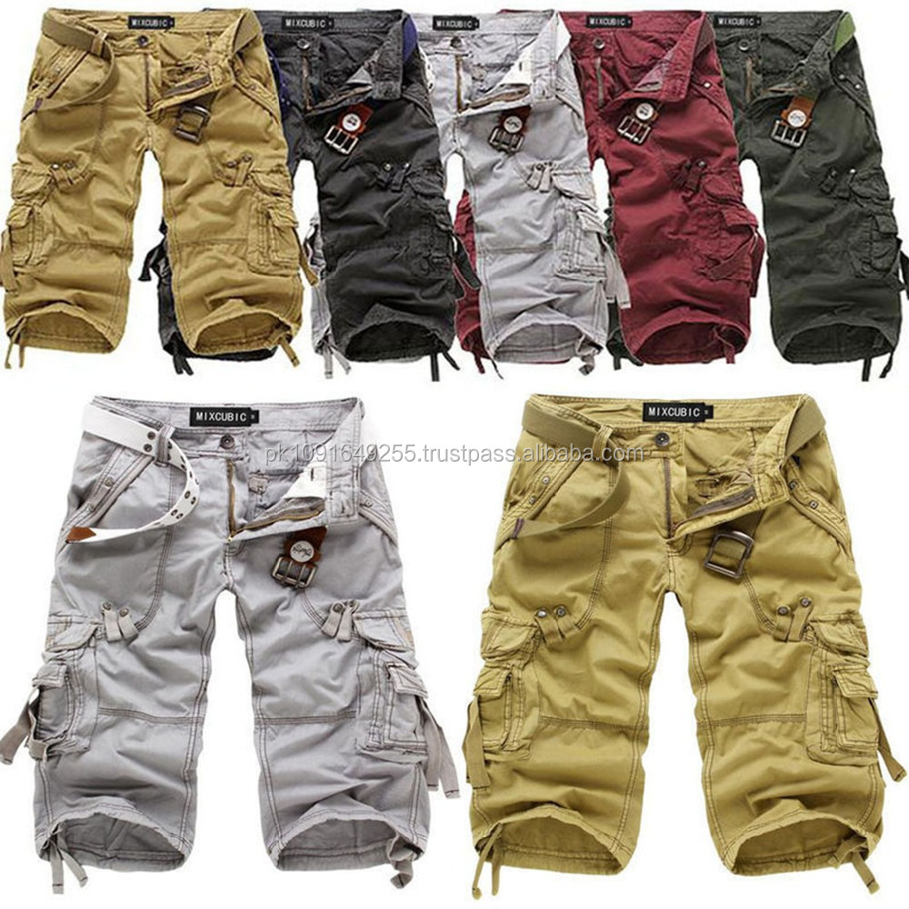 Most popular men sport shorts casual hiking military polyester trousers for men cargo trousers