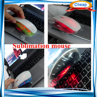 3D sublimation printing usb wired mouse , make customize gaming advertising wired mouse wireless