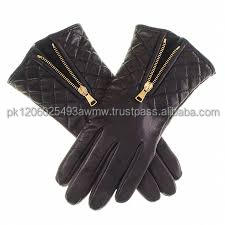 Women black leather gloves beautiful leather gloves/driving gloves/fashion gloves.