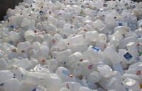 HDPE Milk Bottle Scrap, hdpe drum scrap plastic bales