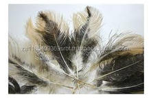 raw custom different colours white artificial ostrich feathers