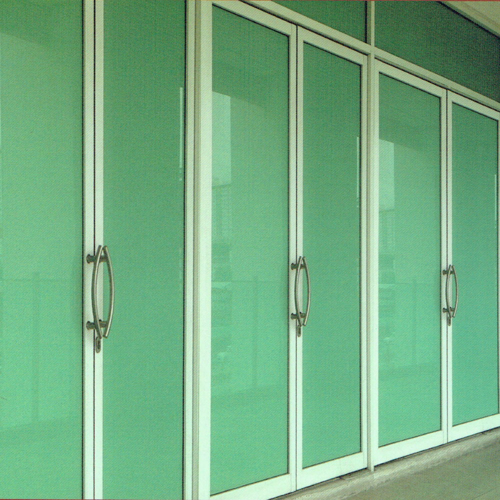 Aluminium Swing Doors Glass Swing Door for Buildings
