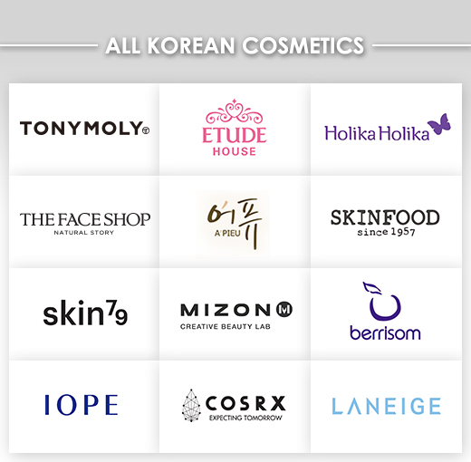 All Korean Cosmetics Brands