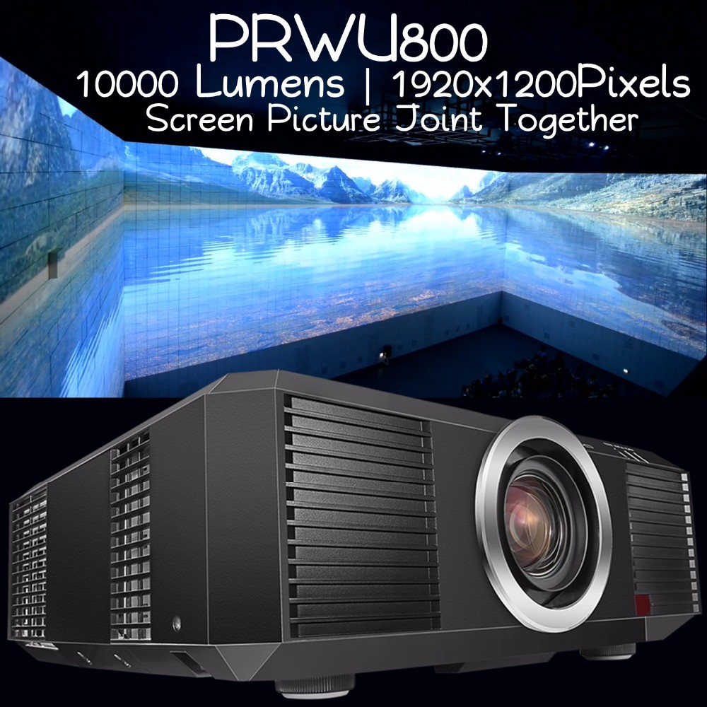 PRWU800,10000 lumens projector,Planetarium projector,a large screen splicing Technology large scale outdoor projector
