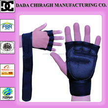 NEOPRENE GRIP PADS / FITNESS TRAINING WEIGHTLIFTING GLOVES