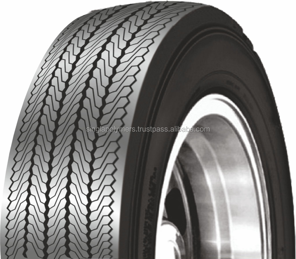 Tire tread rubber for cold process