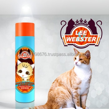 LEE&WEBSTER SHAMPOO&CONDITIONER FOR SHORT-HAIR CATS