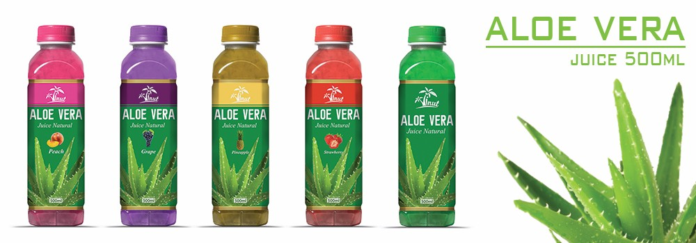 500ml Strawberry Flavour Aloe Vera Drink