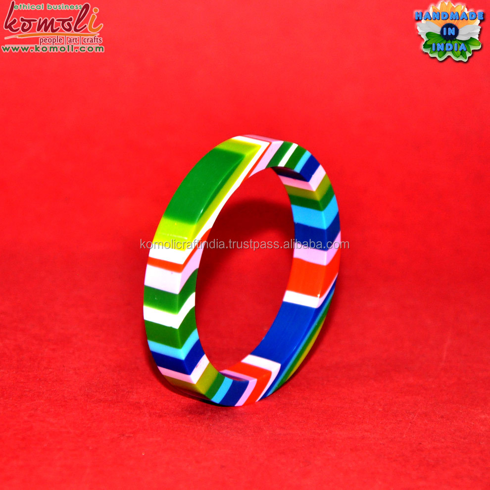 Green dot cheap wholesale multi color bangles costume jewelry