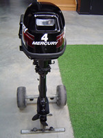 USED MERCURY 4 HP 4 STROKE OUTBOARD MOTOR