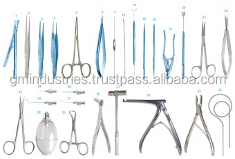 LACRIMAL SET Micro Ophthalmic Instruments Kit Eye surgical instruments