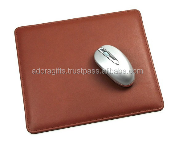 ADAPMP - 0019 leather computer mouse pad manufacturer with wrist rest/sublimation printing mouse pad manufacture