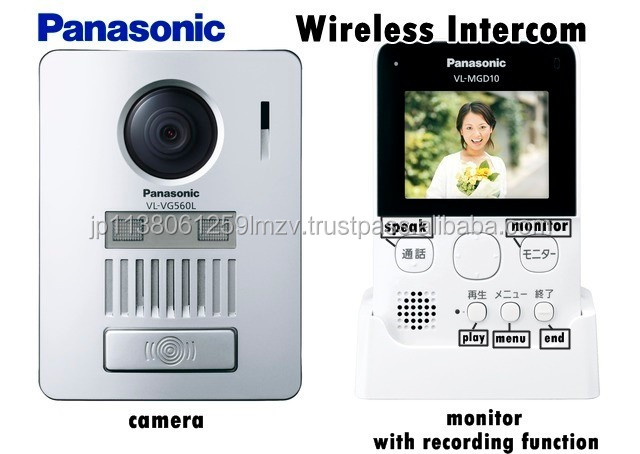 Easy installations and Fashionable door bell with camera Wireless intercom for home use