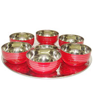 King International Diwali Gifts/Christmas Gifts/Most Standard Stainless Steel Oval Tray / Platter