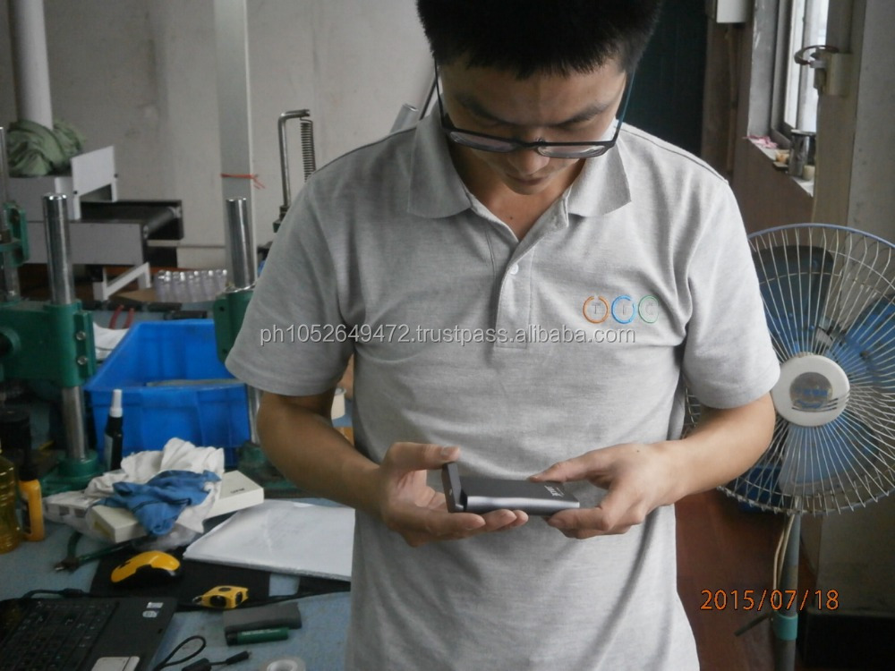 Mobile Power Bank During Production (DuPro) Inspection in China