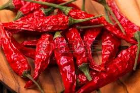 100% Sun dry red hot chilli pepper