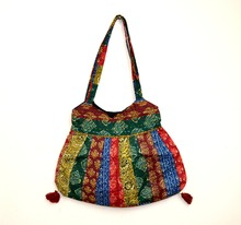 Vintage Indian handmade Old Recycled kantha traditional Shopper New Shoulder bag