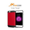 2016 Top Quality rooCASE Exec Tough Bumper TPU PC Armor case for iPhone 6 6s Plus 5.5 inch Whole sale (Red)