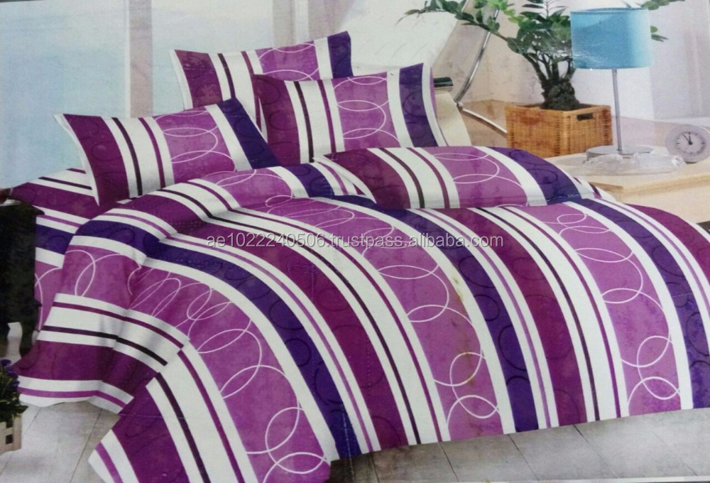 100% Cotton Printed Duvet, Bed Sheets, Pillow case