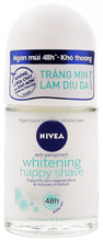 NIVEA WHITENING HAPPY SHAVE DEODORANT ROLL ON 25ML