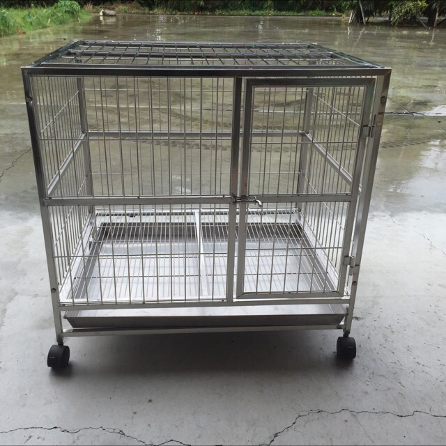 [supplier] Stainless Steel Dog Crate from factory