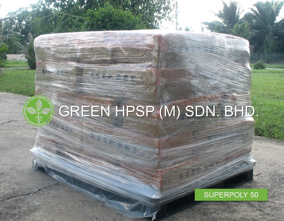 SUPERPOLY 50 - (Green HPSP (M) Sdn Bhd, Pre-vulcanised Rubber, Rubber Raw Material, Natural Rubber, SP50)