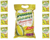 High Quality Vacuum Freeze Dry Durian Monthong 210 g pack - Thai Ao Chi Brand - Dry fruit Snack