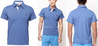 Custom OEM plain men's polo shirts