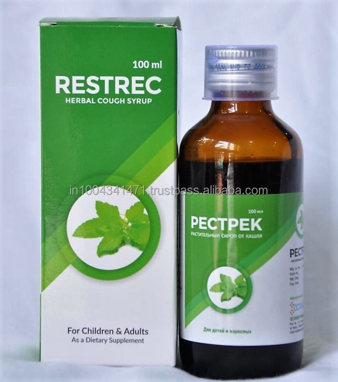 Restrec herbal cough syrup