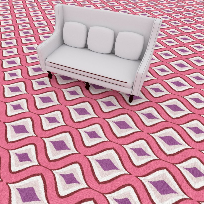 Lipz Pink Carpet | Luxury Hotel Carpet | Axminster Carpet | Wall to Wall Carpet | Pattern Commercial Carpet