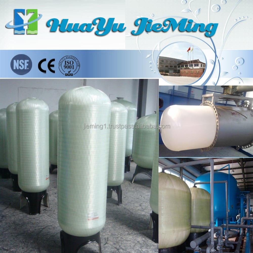 Ion exchange resin automatic water softener FRP resin tank/Pure water machine with RO water softener