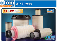 AIR FILTER - ATOM FILTER _ TURKEY - CAT SCANIA VOLVO ISUZU DAF MAN MERCEDES RENAULT FORD CARGO MITSUBISHI HITACHI DAEWOO CUMMINS